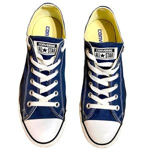 Unisex Chuck Taylor All-Star Blue LowCut Sneakers